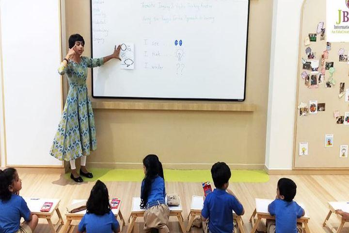 J B C N International School-Classroom