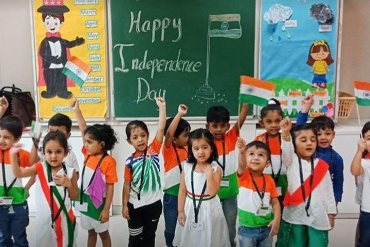J B C N International School-Independance Day