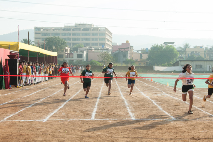 Euro school-Running Race