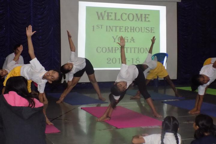 Euro school-Yoga