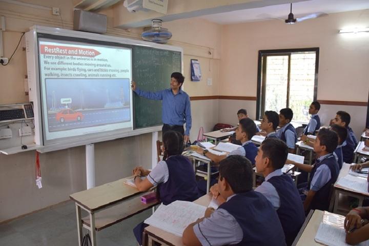 Smt H M Nanavati English High School-Classroom