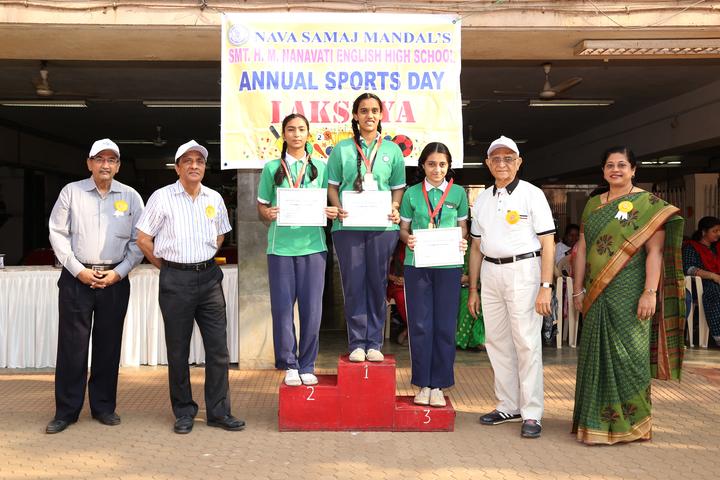 Smt H M Nanavati English High School-Sports Day