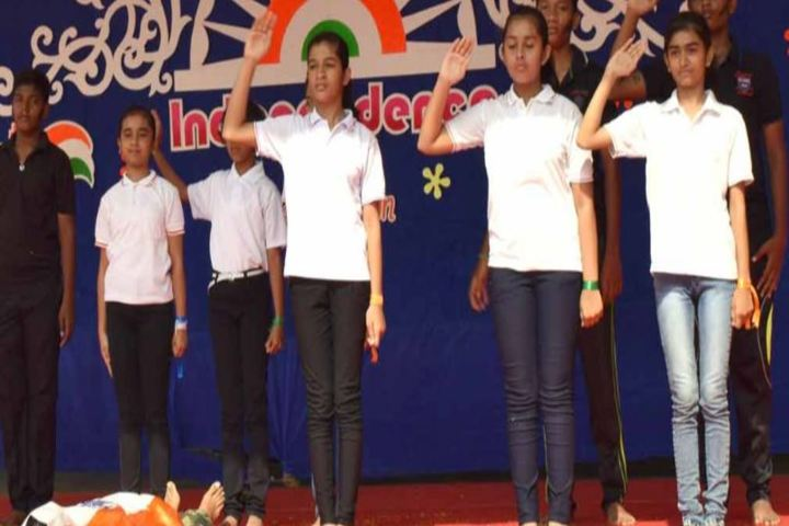St Antony National School-Independance Day