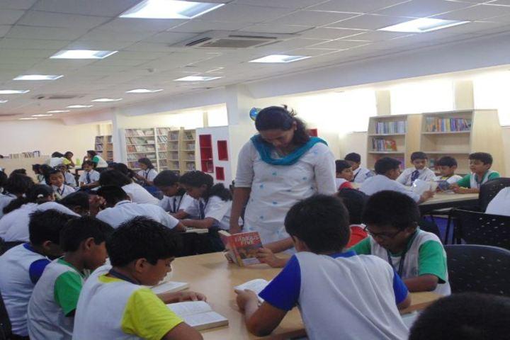 Lodha World School-Library