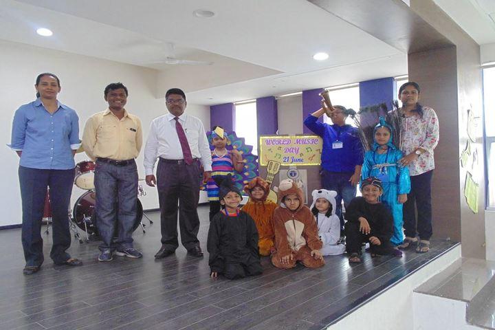 Lodha World School-Music Day