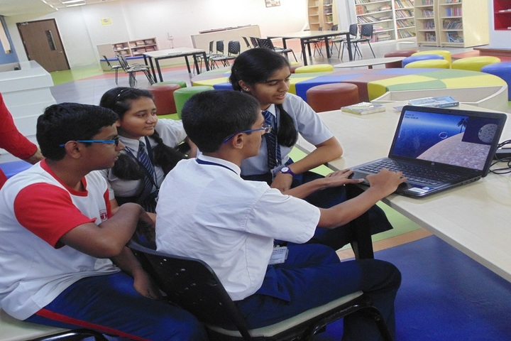 Lodha World School-Study Room