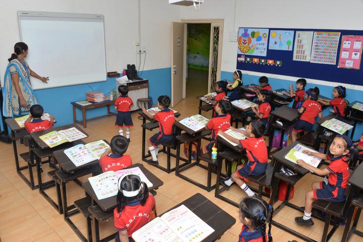 Shri Bhaidas Dharsibhai Bhuta High School-Classroom