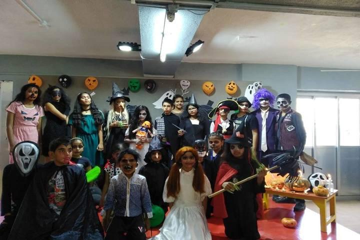Shri Bhaidas Dharsibhai Bhuta High School-Halloween Day