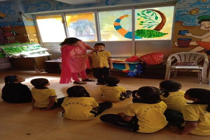 Shri Bhaidas Dharsibhai Bhuta High School-Kids Room