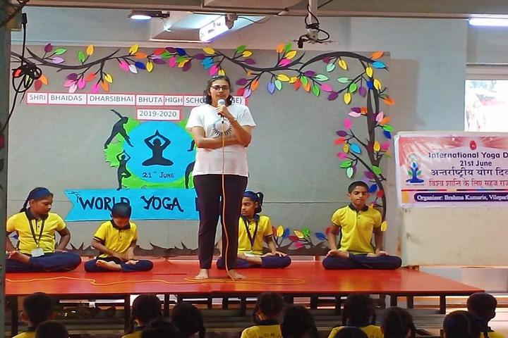 Shri Bhaidas Dharsibhai Bhuta High School-Yoga Day