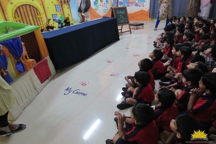 Pawar Public School-Kids Seminar Room