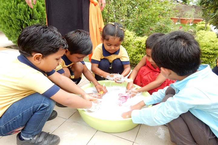 Disha College Of Higher Secondary Studies - Toy wash Activity