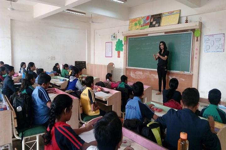 Disha College Of Higher Secondary Studies - class room