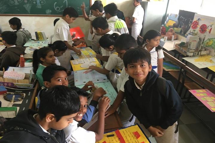 St Xaviers English Medium School-Classroom