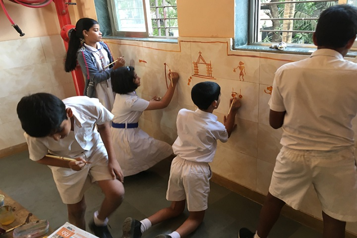St Xaviers English Medium School-Nursery students