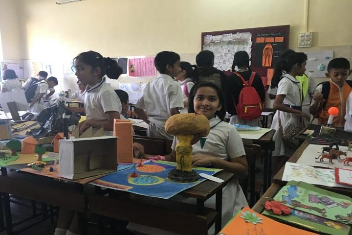 St Xaviers English Medium School-Science exhibition
