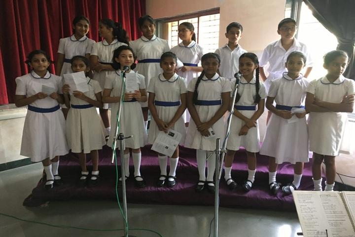 St Xaviers English Medium School-Singing