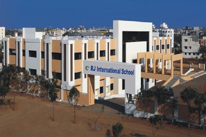 R J International-School Building
