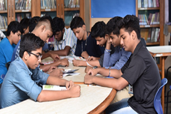 Swami Vivekanand International School And Junior College-Libray