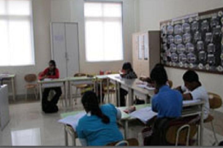 D Y Patil International School-Classroom