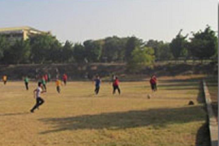 D Y Patil International School-Foot ball courts
