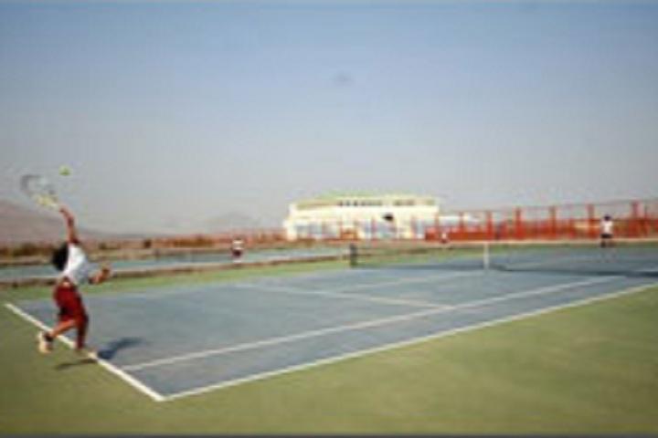 D Y Patil International School-Tennic courts