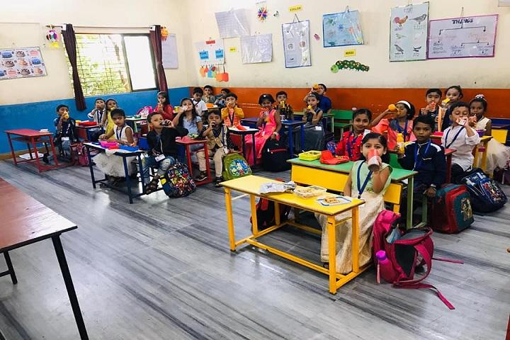 Sir J P International School-Classroom