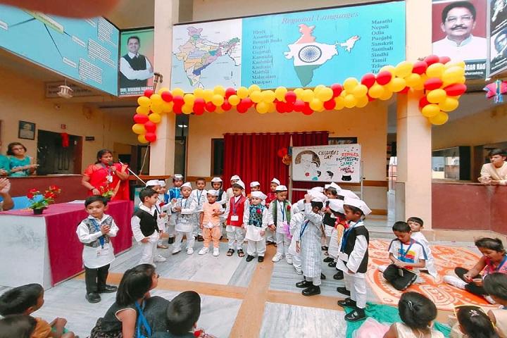 Sir J P International School-Childrens Day