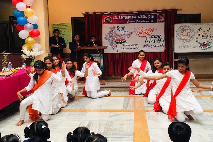 Sir J P International School-Hindi Divas