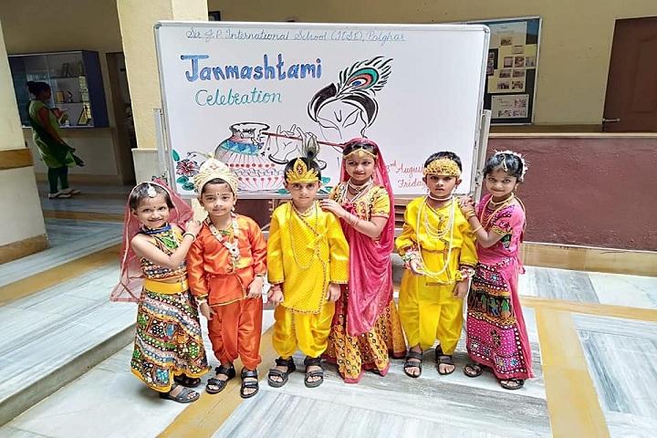 Sir J P International School-Janmashtami