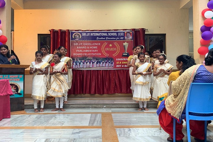 Sir J P International School-Events