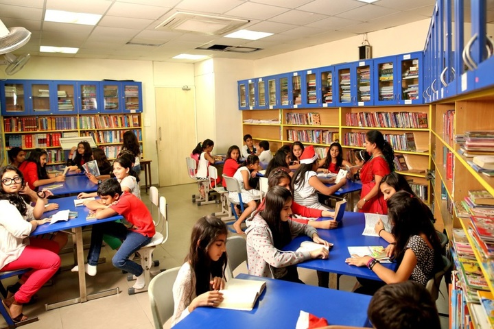 C P Goenka International School-Library