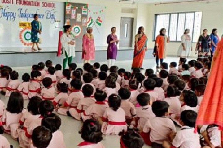 Dosti Foundation School-Independence day
