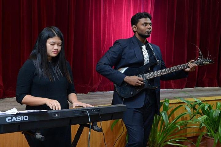 The Frank Anthony Public School- Music