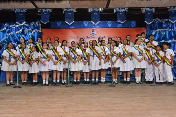 The Frank Anthony Public School-Annual day