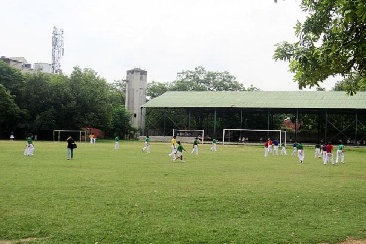 The Frank Anthony Public School-Playground