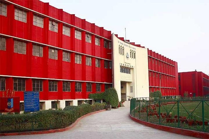 The Frank Anthony Public School-School building