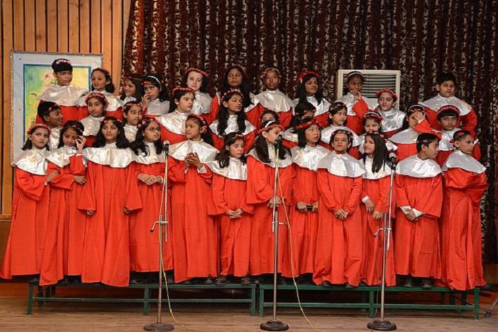 The Frank Anthony Public School-Singing