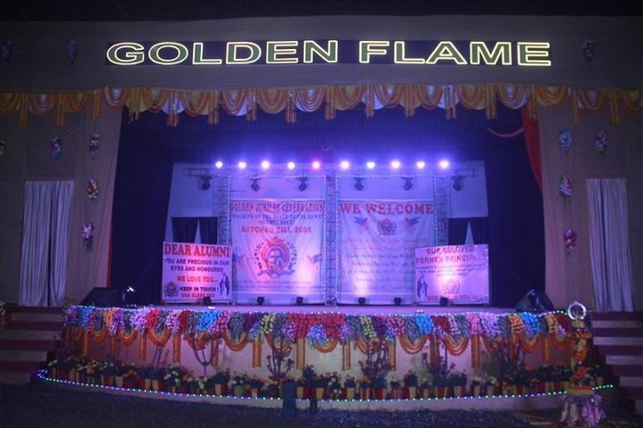 St  Marys School-Golden flame