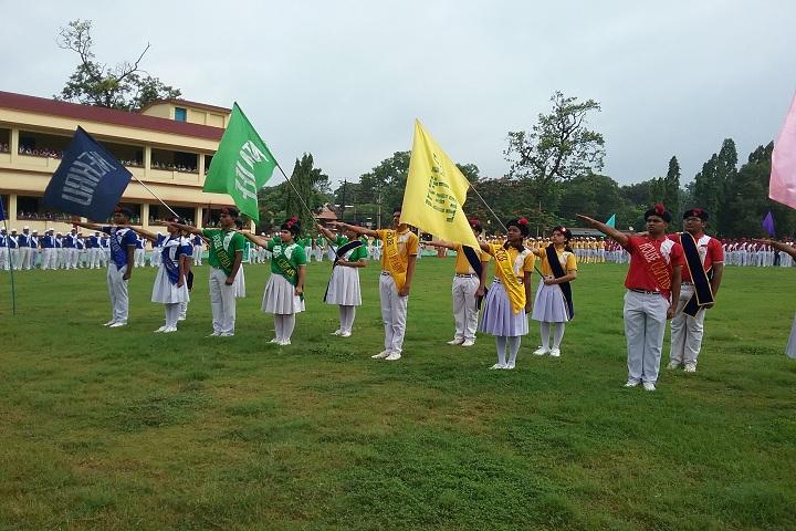 St  Marys School-Sports day