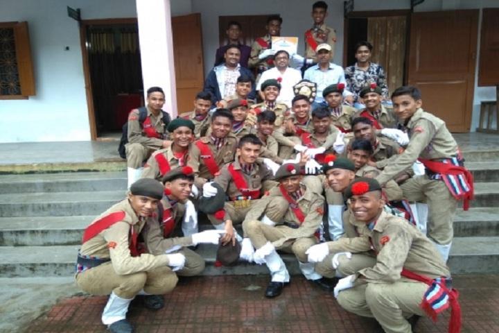 Matrusri Anglo Vedic School-NCC