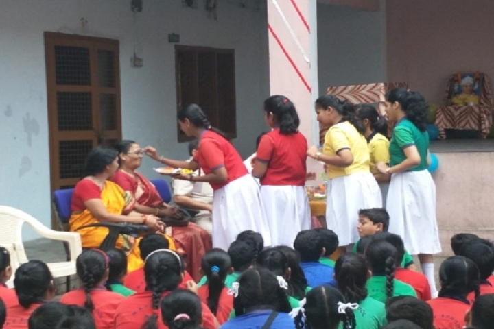 Matrusri Anglo Vedic School-Teachers day