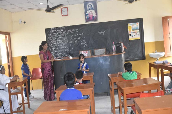 St VincentS Convent School-Classroom