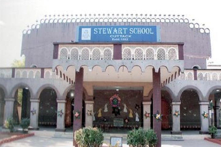 Stewart School-School building