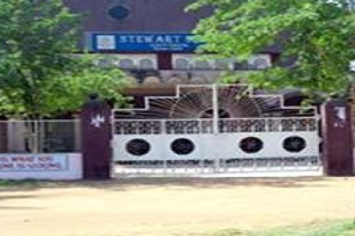Stewart School-School entrances