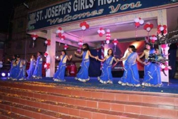 St Josephs  Girls  High School-Group Dances
