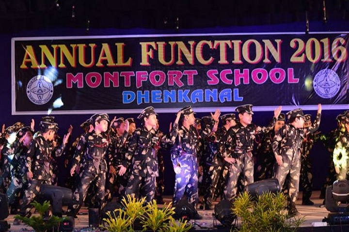 Montfort School- Annual functions