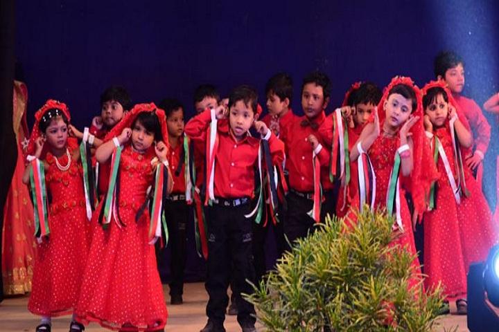 Montfort School- Lkg students dances