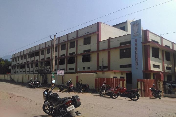 Sacred Heart School-School building