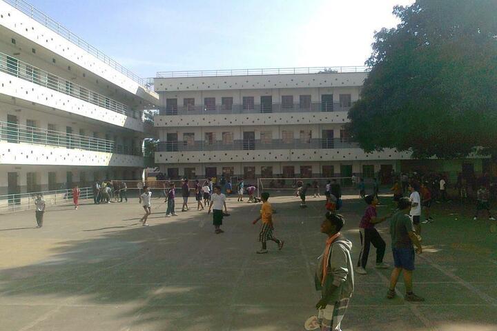 St  Pauls School-Play Court